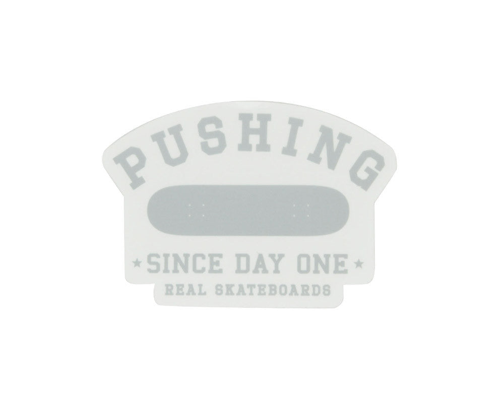 Real Pushing Die Cut Sticker - Assorted Colors