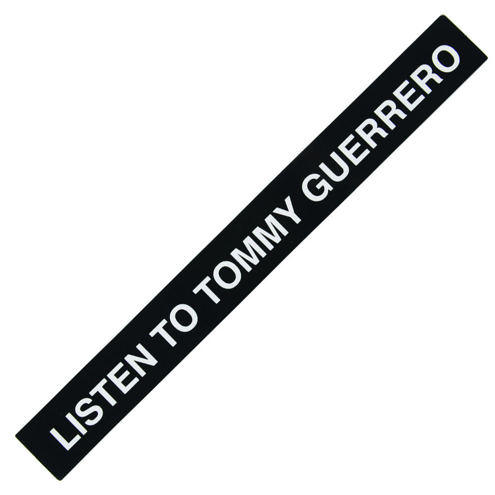 Real Listen To TG Sticker - Medium