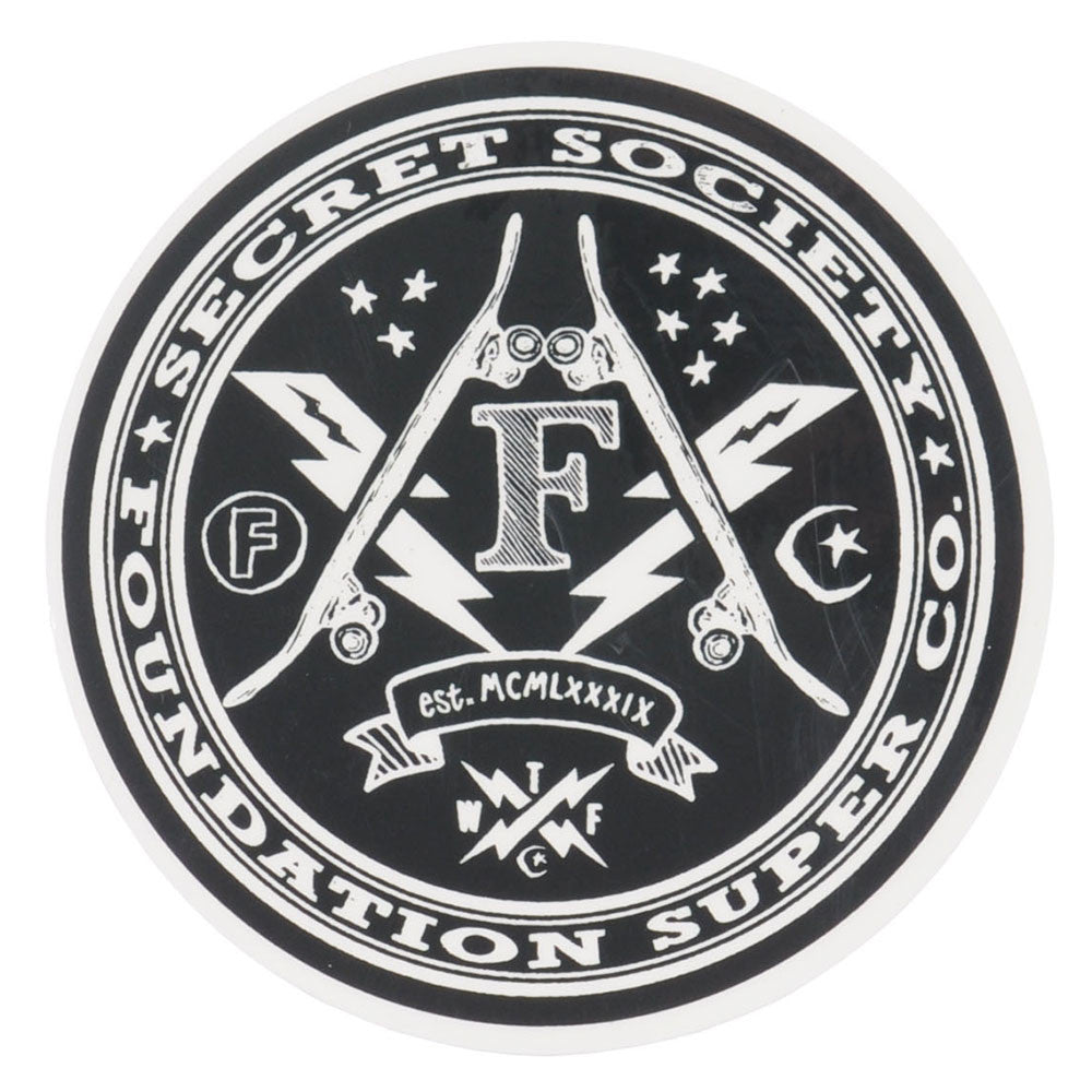 Foundation Secret Society Medium Sticker - Assorted
