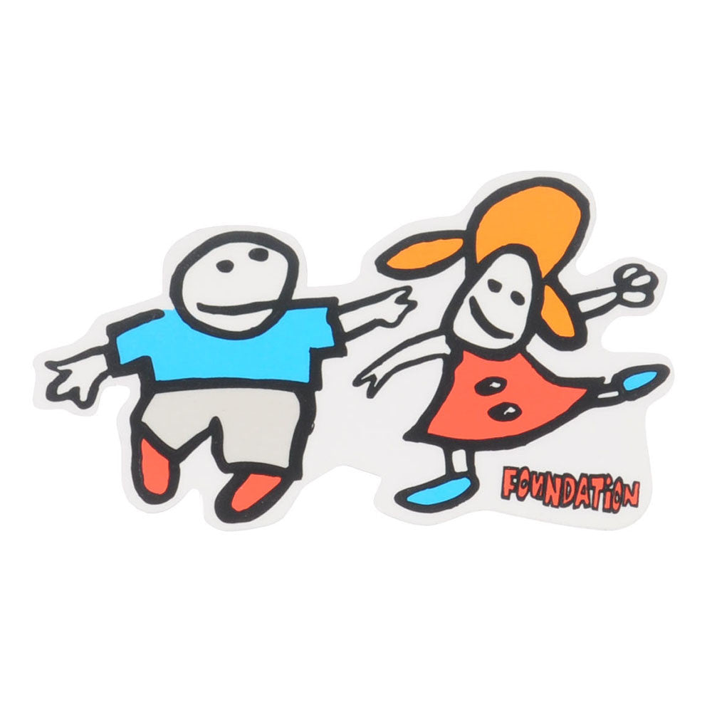 Foundation Boy & Girl Sticker - Assorted