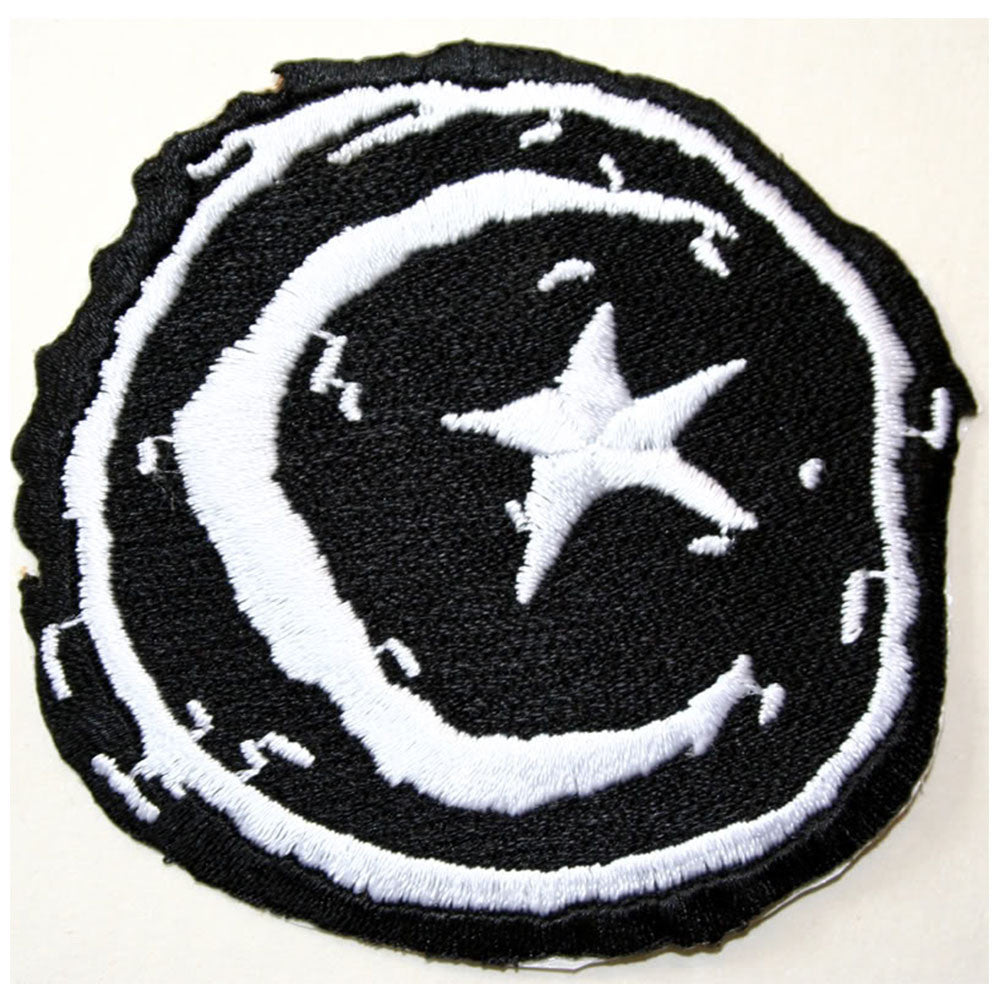 Foundation Star & Moon V1.0 Patch - Black/White