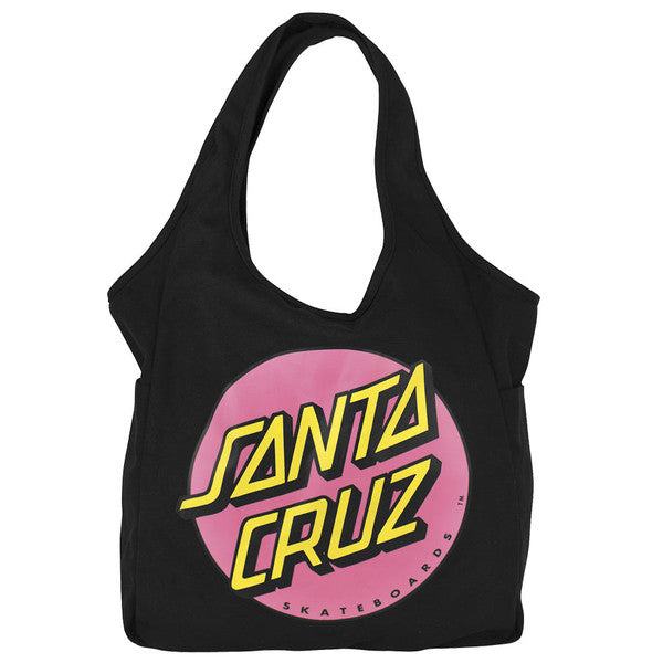 Santa Cruz Other Dot Tote Juniors - OS - Black/Pink