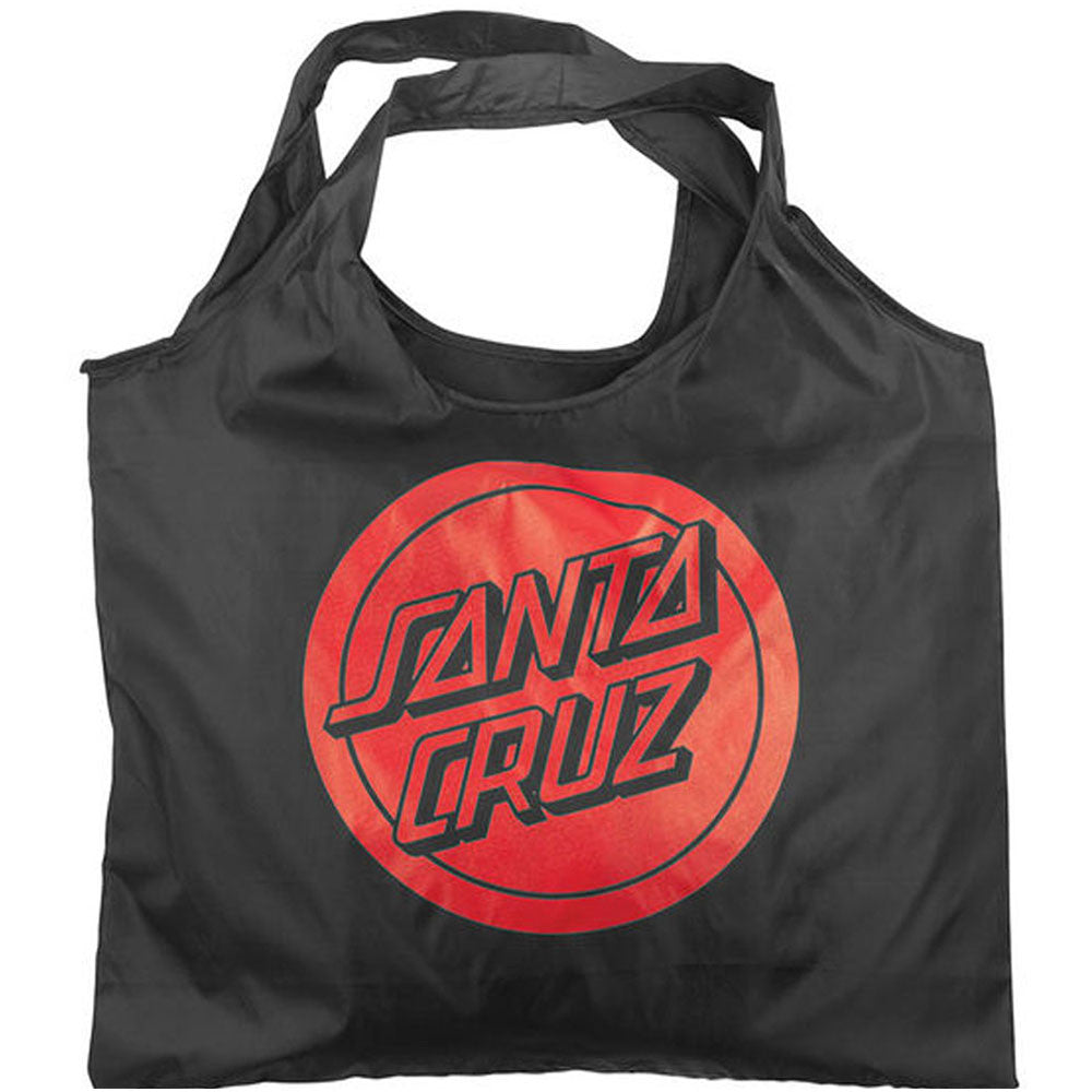 Santa Cruz Reverse Dot Shopping Bag - Black/Red