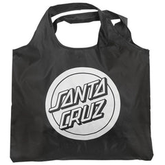 Santa Cruz Reverse Dot Shopping Bag - Black/White