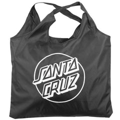 Santa Cruz Opus Dot Shopping Bag - Black/White