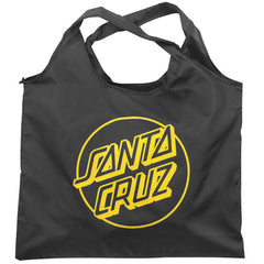 Santa Cruz Opus Dot Shopping Bag - Black/Yellow
