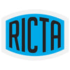 Ricta Clear Vinyl Decal Sticker - Assorted Color - 4in x 3in