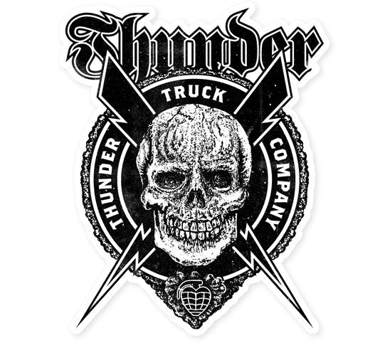 Thunder Por Vida Die Cut Sticker - Medium