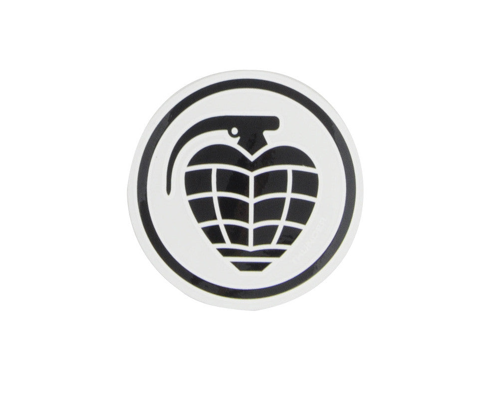 Thunder Circle Grenade Sticker - Small - Assorted Colors