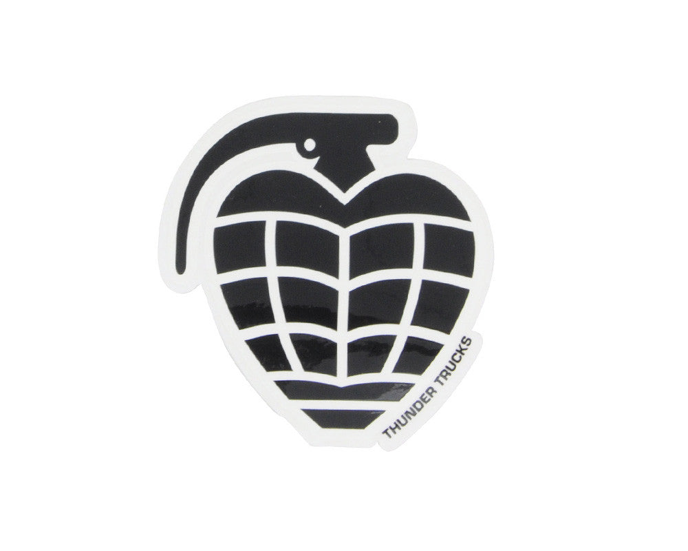 Thunder Grenade Diecut Sticker - Large - Assorted Colors