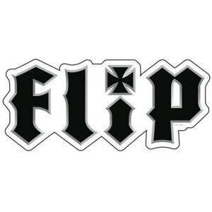 Flip Metalhead Decal Small - Black - Sticker