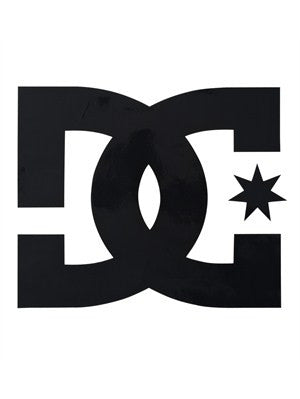 DC Star Vinyl Sticker - 2in - Black