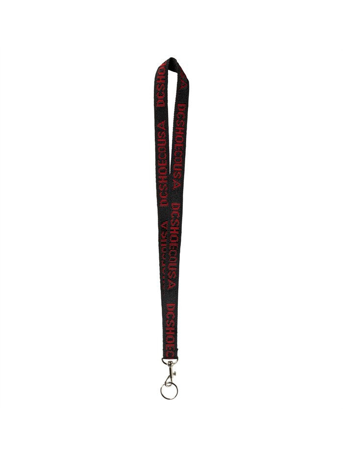 DC Identify Lanyard - Black/Red