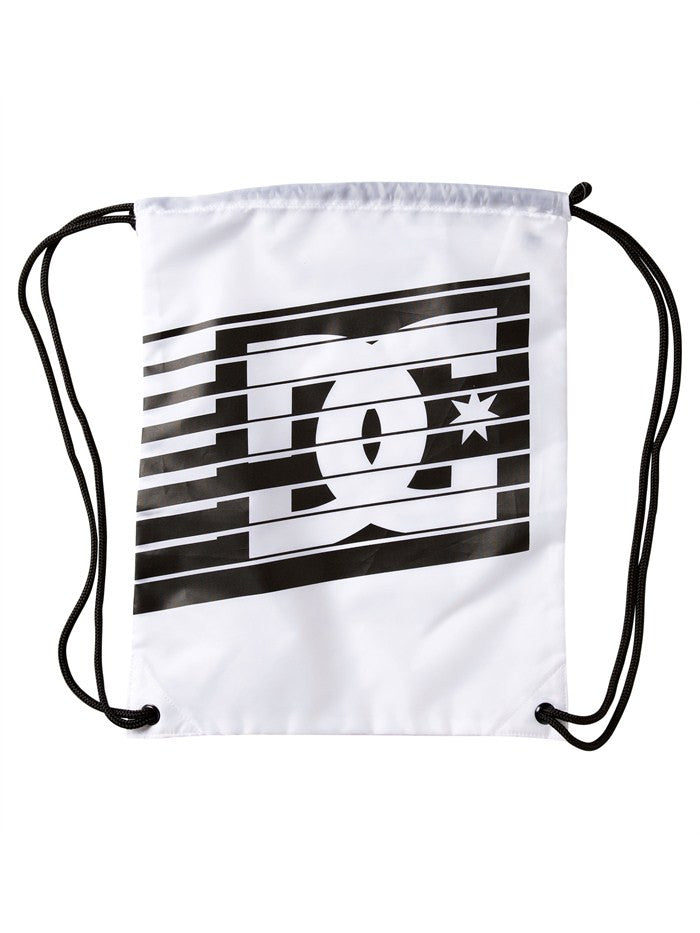DC Men's Simpski - White/Black - Cinch Bag