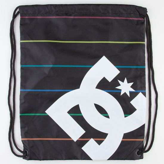 DC Men's Simpski - Black Stripe - Cinch Bag