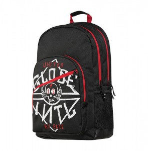 Globe Jagger Backpack - Black/Red