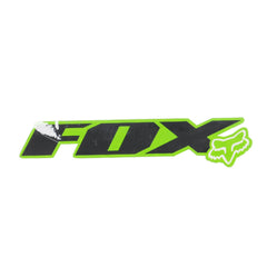 Fox Gate Sticker Sticker - Green/Black
