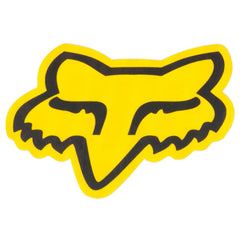 Fox Head 2.5in. Sticker - Yellow/Black