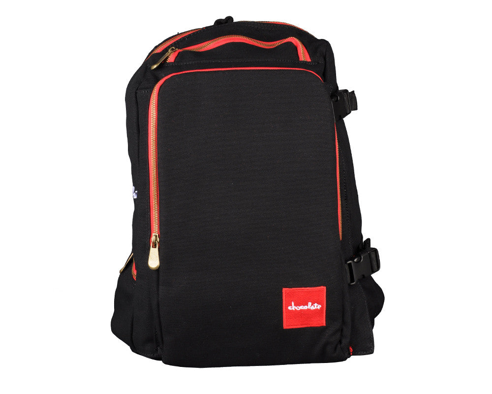 Chocolate Skate Pack Patch Backpack - Black