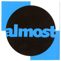 Almost Square Sticker - 4in x 4in - Assorted Colors