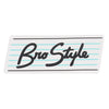 Bro Style Script Medium Sticker - Assorted