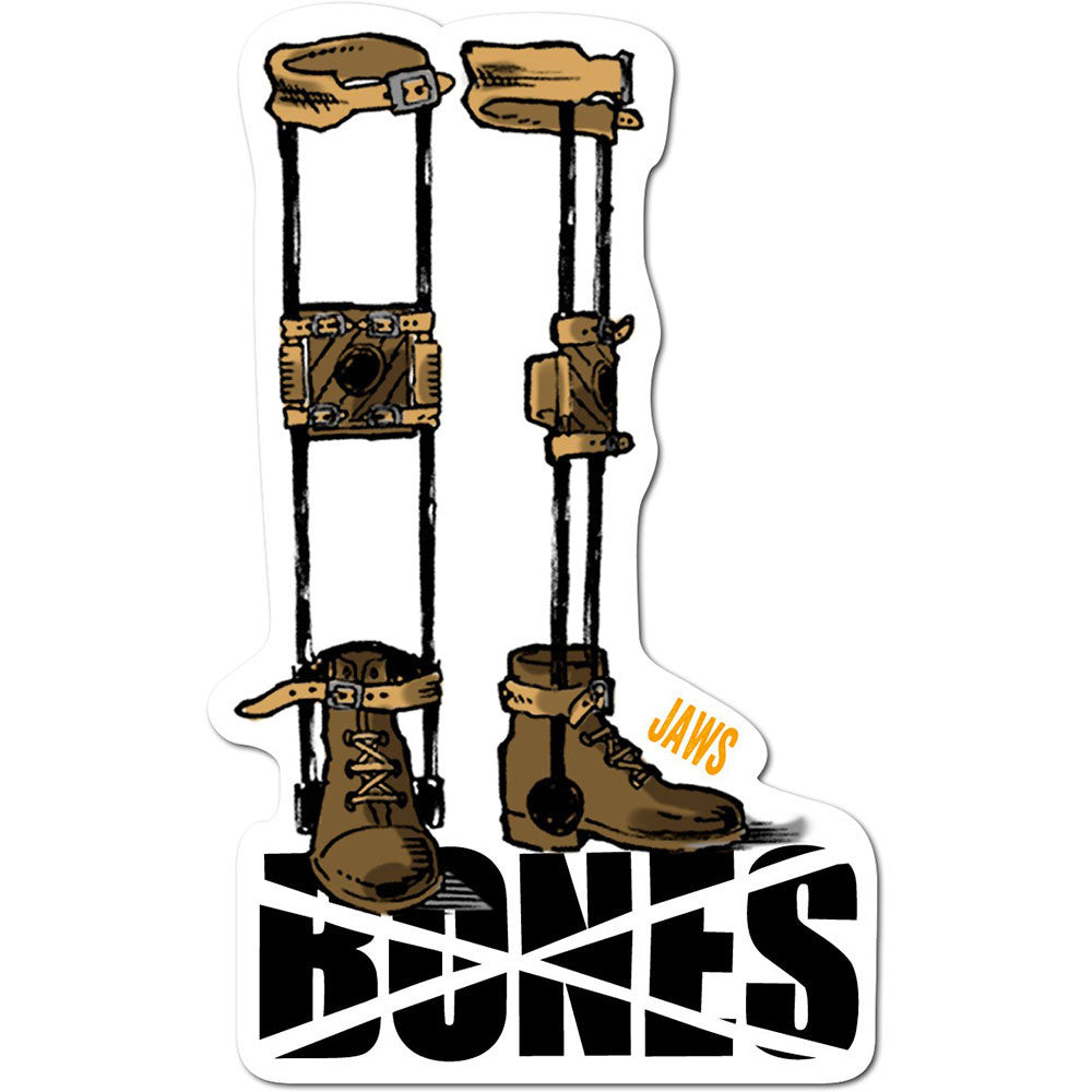 Bones Jaws Retirement Sticker