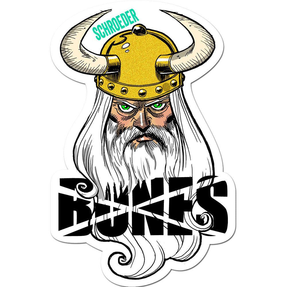 Bones Schroeder Viking Sticker