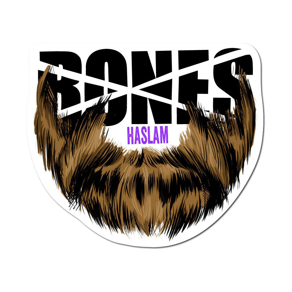 Bones Haslam Beard Sticker