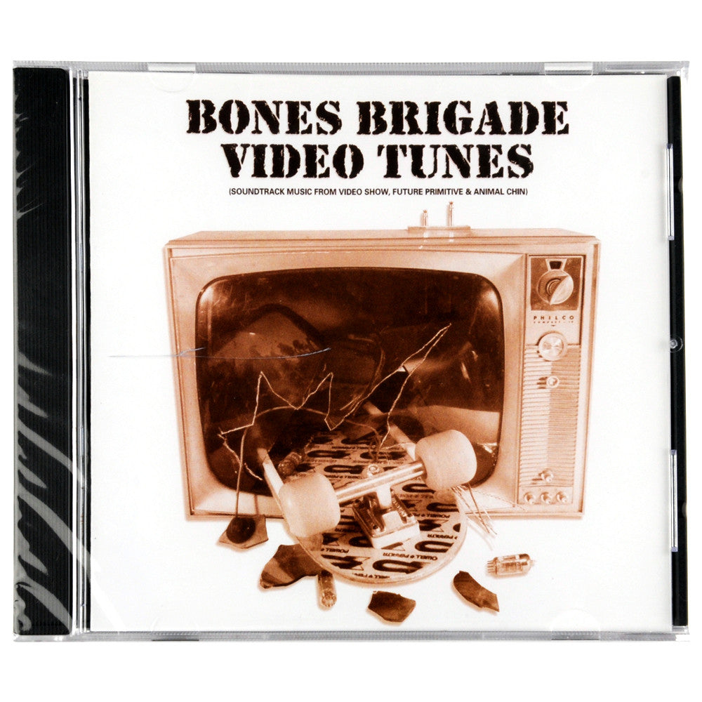 Bones Brigade Video Tunes Music CD