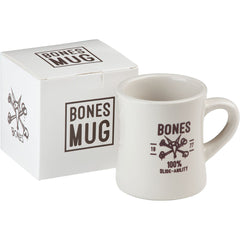 Bones Wheels Vato Coffee Mug/Pen Holder - White