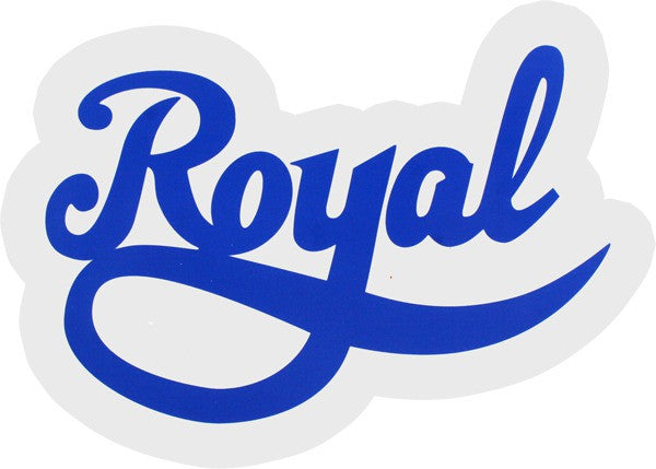 Royal Script Stickers - Large