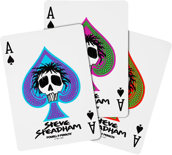 Powell Peralta Steadham Skull Sticker - Assorted Colors