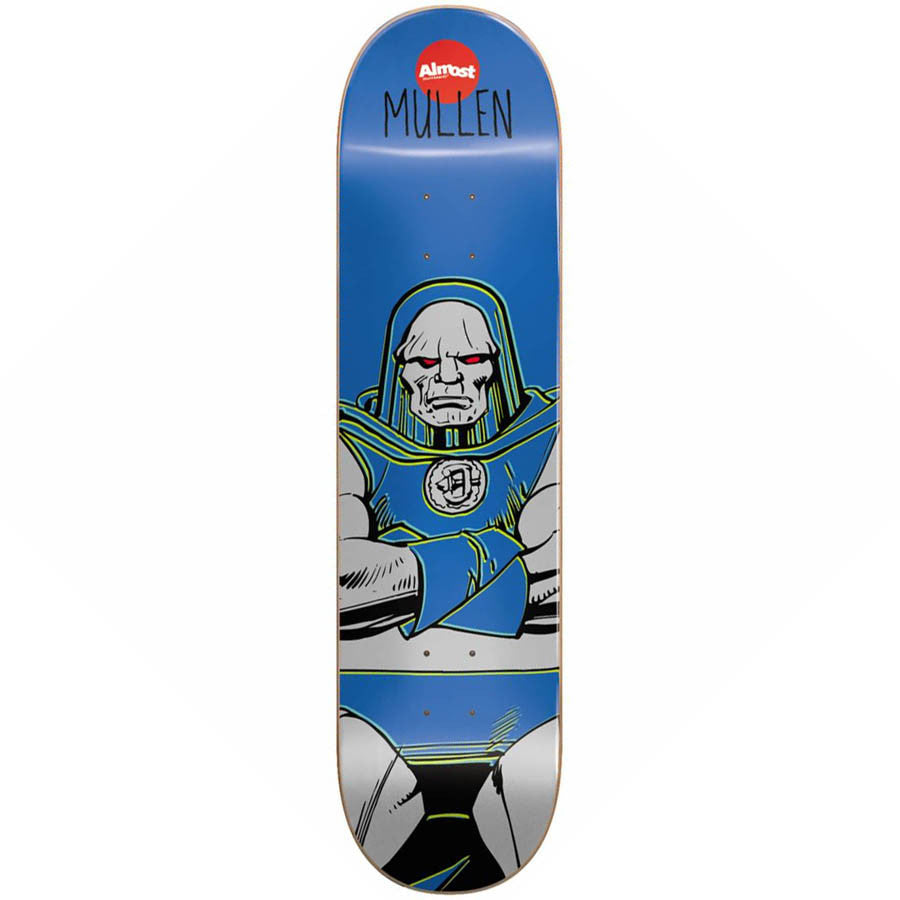 Almost Rodney Mullen Darkseid R7 Skateboard Deck - Blue - 8.1