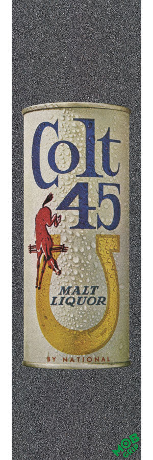 Mob PBC Colt 45 Vintage Can Skateboard Griptape - 9in x 33in (1 Sheet)
