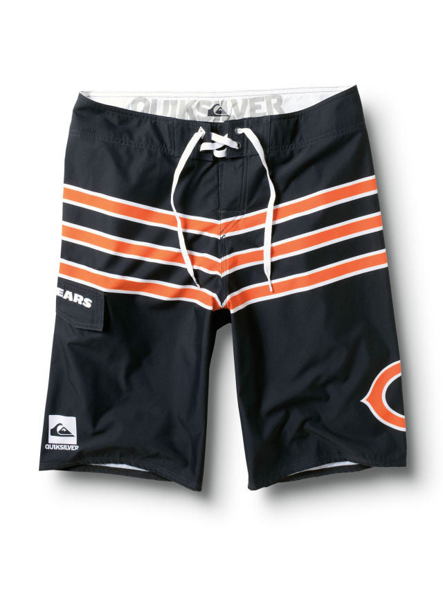 "Quiksilver Bears NFL 22"" Men's Boardshorts - Navy"