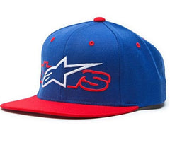 Alpinestars Hammontree Men's Snapback Hat - Blue