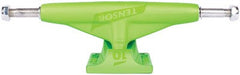 Tensor Magnesium Low Tens Colored - Toxic Green - 5.0 - Skateboard Trucks (Set of 2)