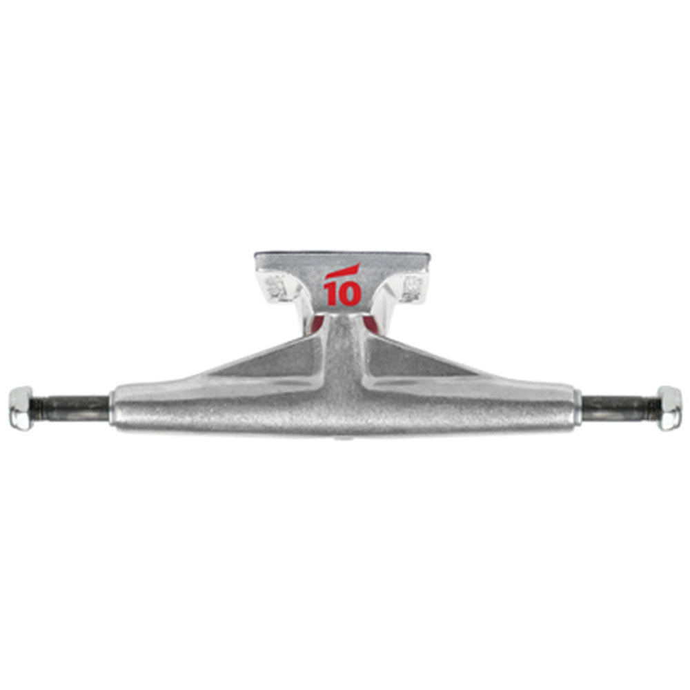Tensor Aluminum Low Tens Raw Skateboard Trucks - 5.0 - Raw Finish (Set of 2)