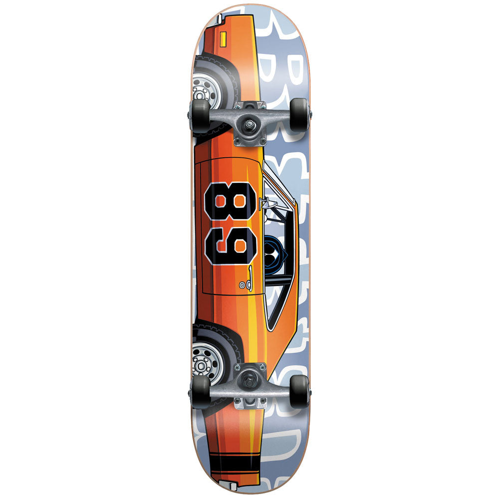 Blind Muscle Car Youth - Orange/Grey - 7.0in - Complete Skateboard