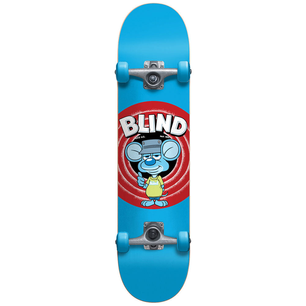 Blind Looney Mouse Youth Soft Top Complete Skateboard - 6.75 - Blue