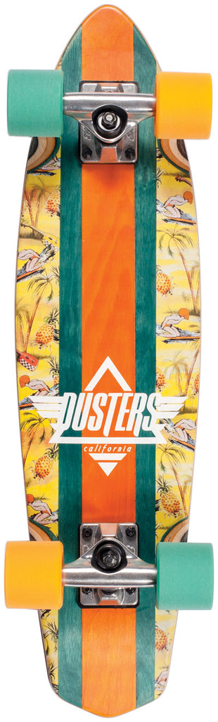 Dusters Ace High Cruiser - Shaka - 27in - Complete Skateboard