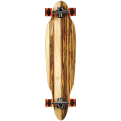 Dusters Scoop Longboard - Brown/Applewood - 37.5 - Complete Skateboard