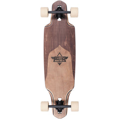 "Dusters Channel Split Maple Complete Skateboard - 34"" - Natural/Brown"