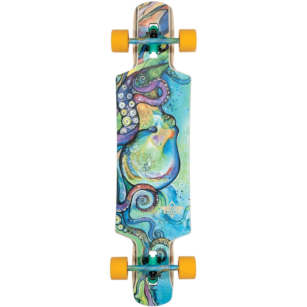 Dusters Kraken Dropthrough Complete Skateboard - Multi - 38.5in