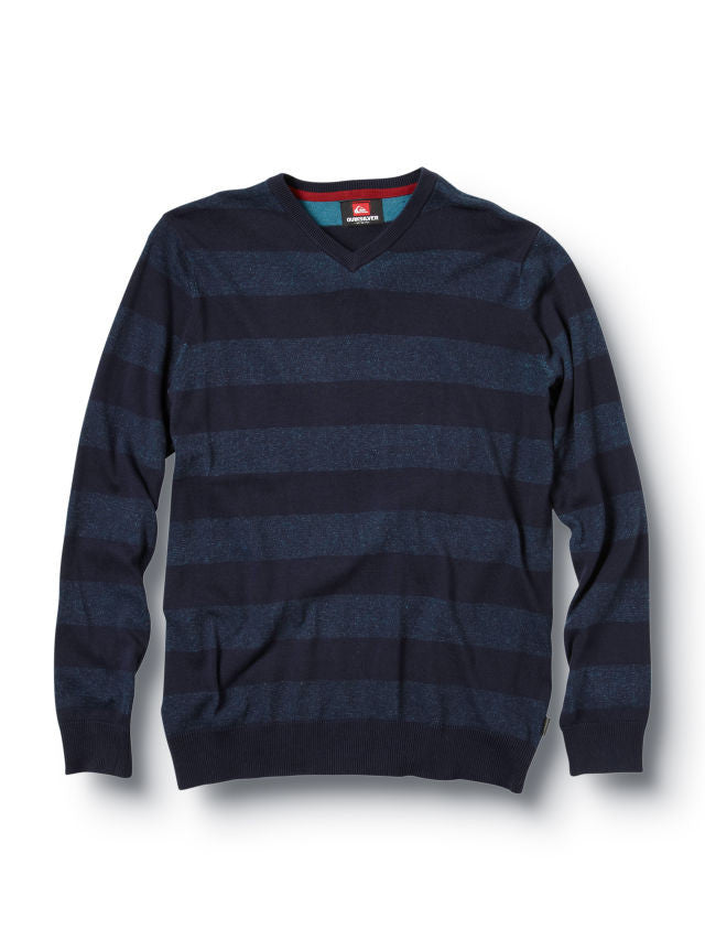 Quiksilver Moss Sweater - Navy - Mens Sweatshirt