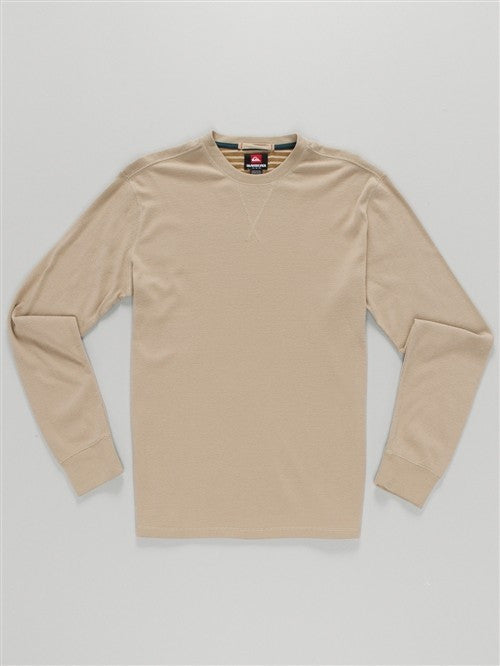 Quiksilver Snit Sweater - Tan - Mens Sweatshirt
