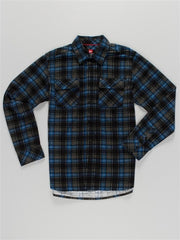Quiksilver Mercy L/S Shirt - Black - Mens T-Shirt