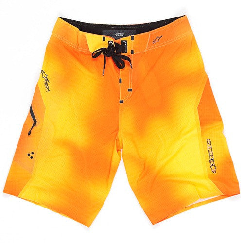Alpinestars HD - Orange/Yellow - Men's Boardshorts