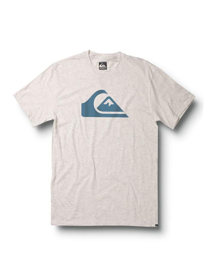 Quiksilver Mountain Wave Slim Fit T-Shirt - Grey - Mens T-Shirt