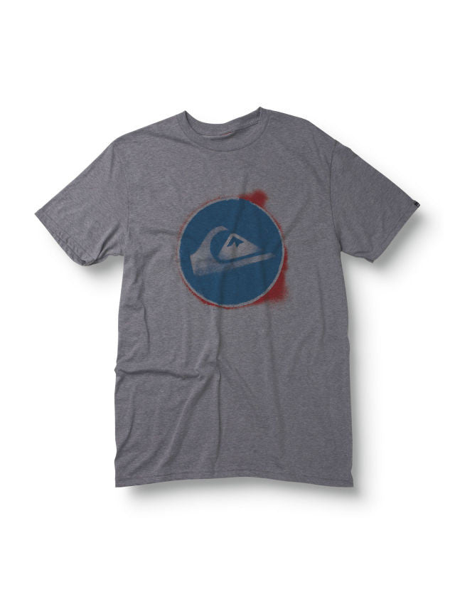 Quiksilver Eclipse T-Shirt - Grey - Mens T-Shirt